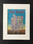 Image of Original The New Yorker Cover April 1972 illustrated by Charles Martin