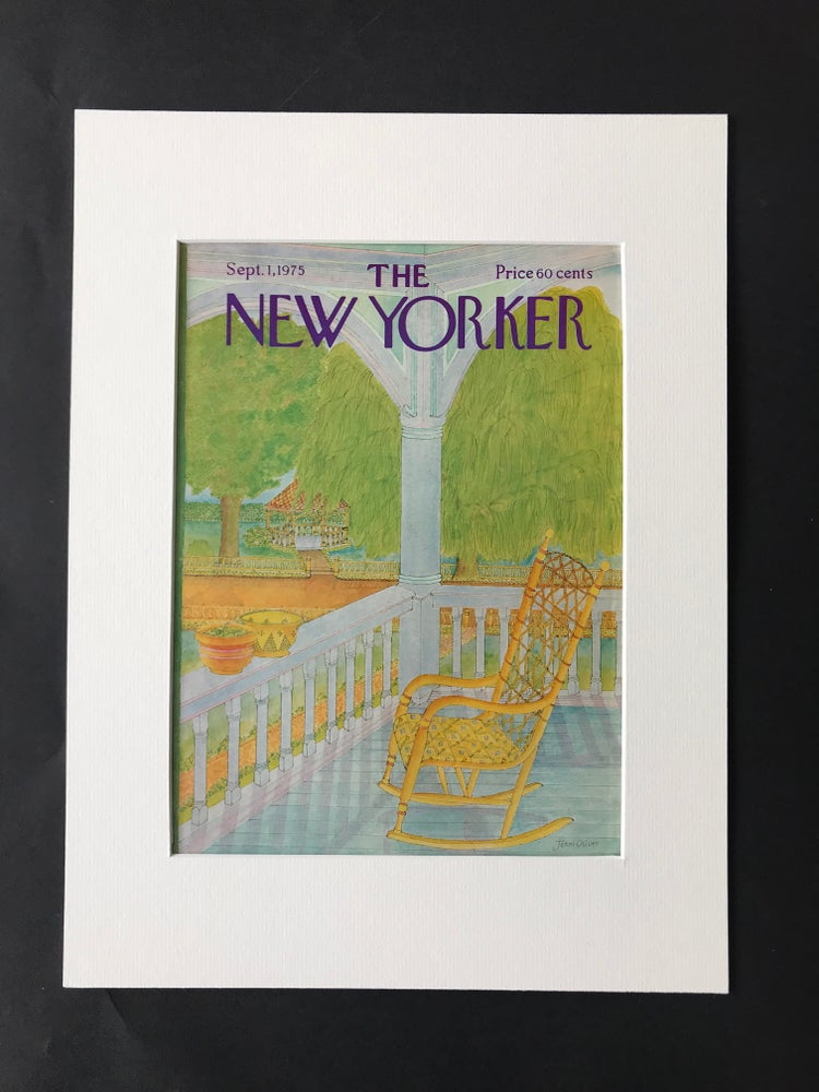 Image of Original The New Yorker Cover September 1975 illustrated by Jenni Oliver