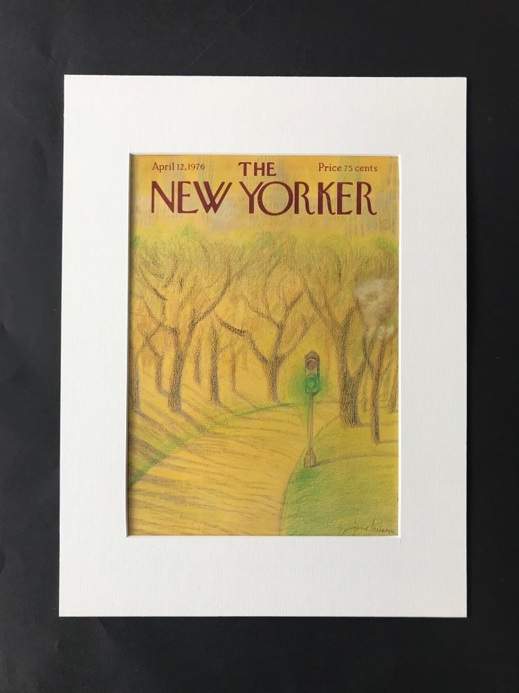 Image of Original The New Yorker Cover April  1976 illustrated by Eugene Mihaesco