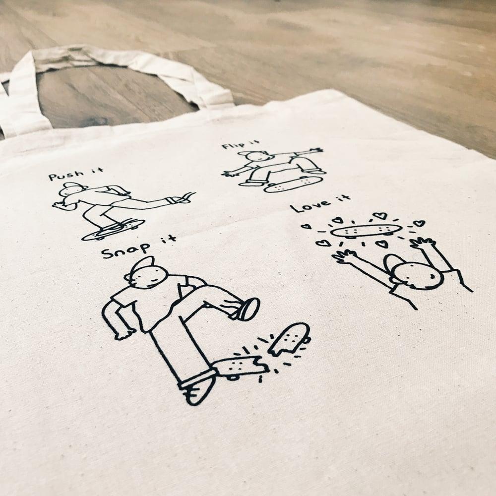 Image of Bop it - Tote bag