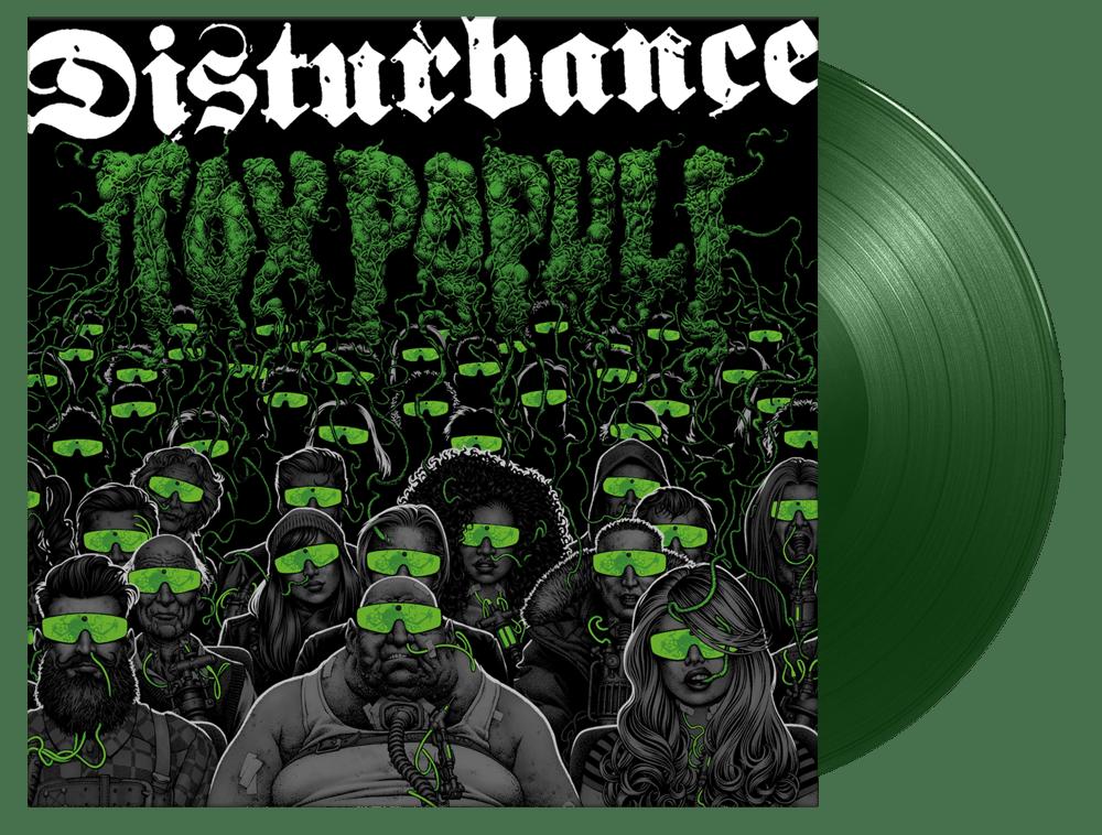 Image of Disturbance - Tox Populi (Green Vinyl)