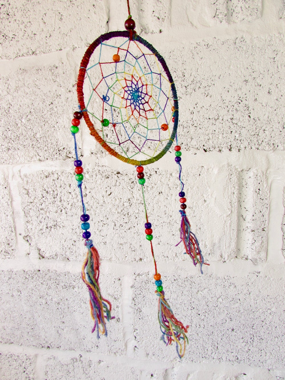 Himalayan Hemp Dream Catcher Small | Cruelty Free | 100% Vegan | Eco Friendly | Handmade