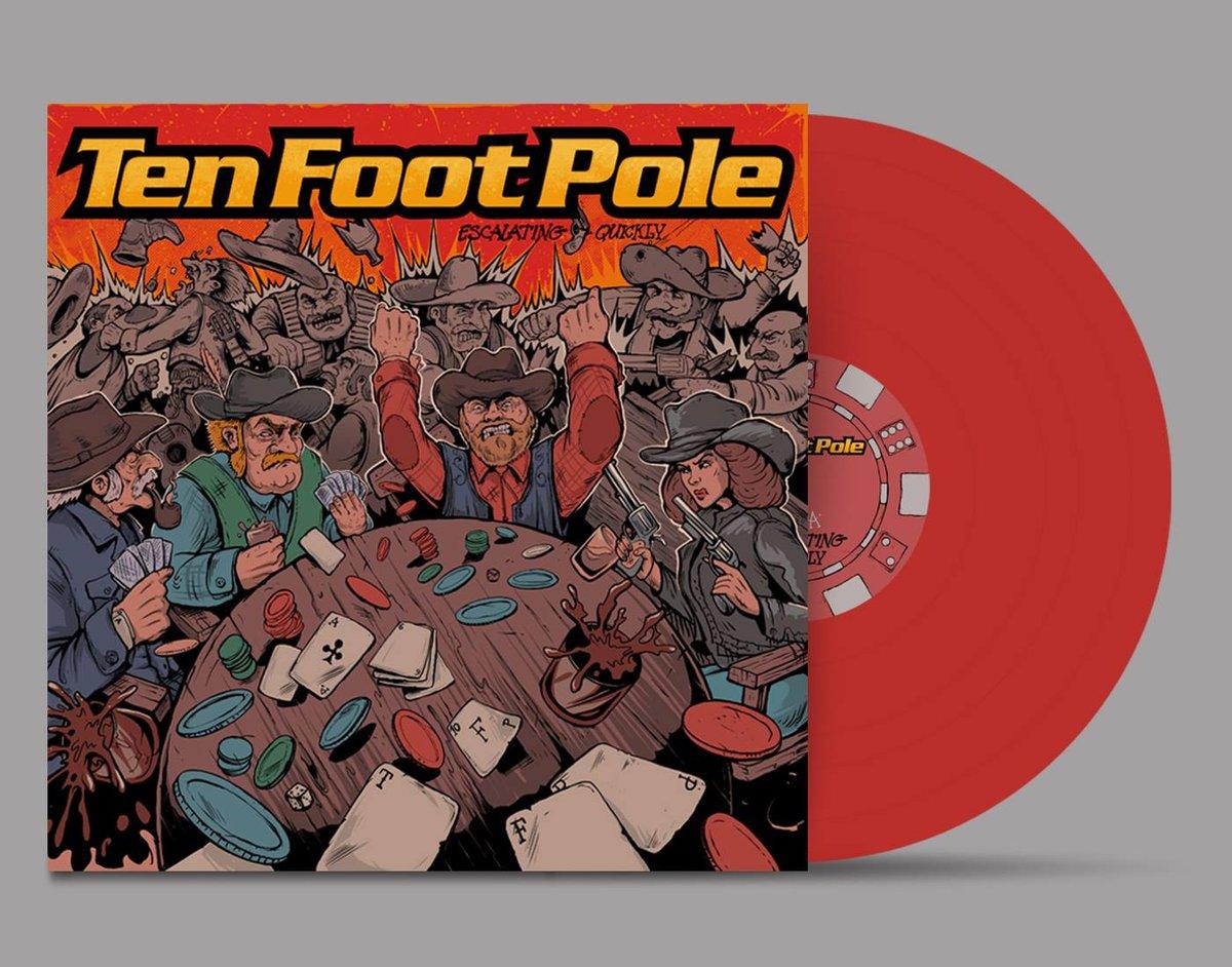 Ten Foot Pole - Escalating Quickly (Limited Edition Vinyl)