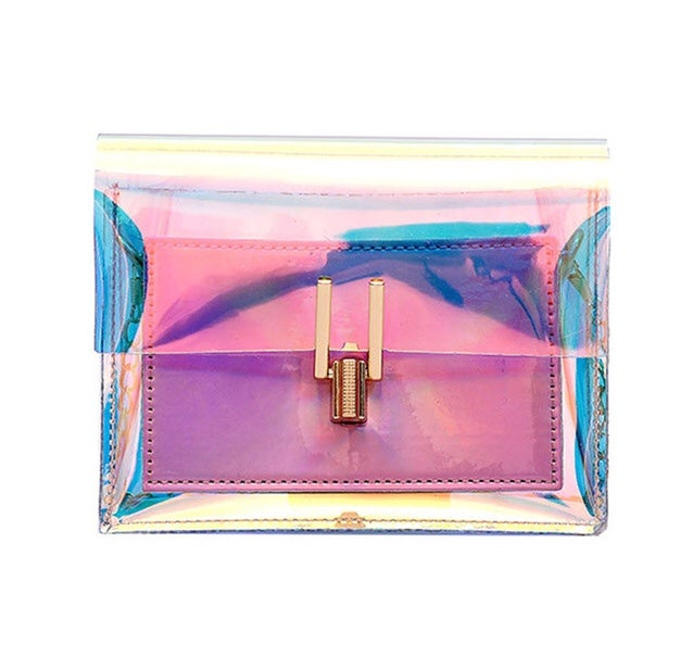 Image of Chain strap holographic bag