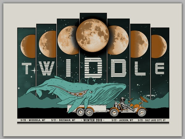 Image of Twiddle - Whale/Moon