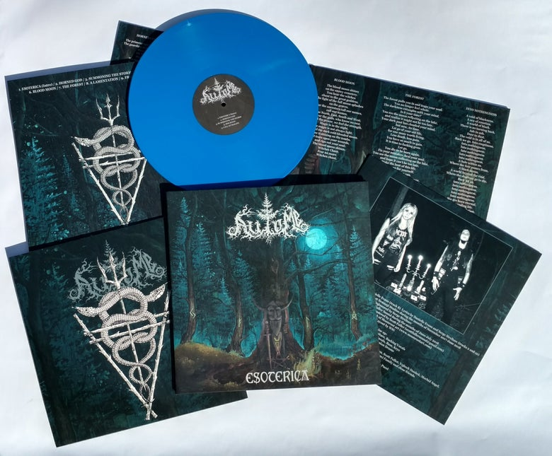 "Image of AUTOMB ""Esoterica"" 12"" LP - BLUE version"