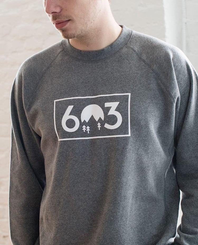 Image of 603 crew neck - grey