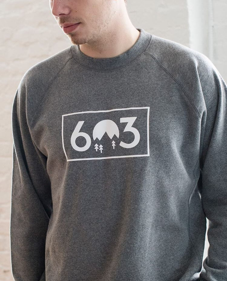 Image of 603 crew neck - grey
