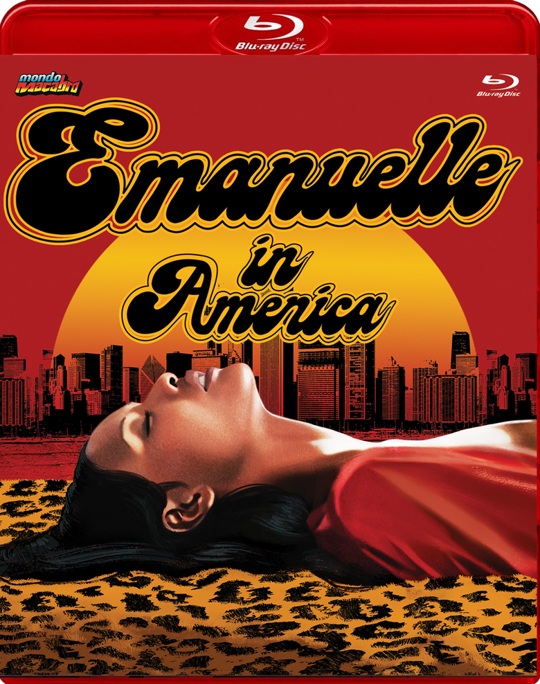 Image of EMANUELLE IN AMERICA -  Limited Red Case Edition