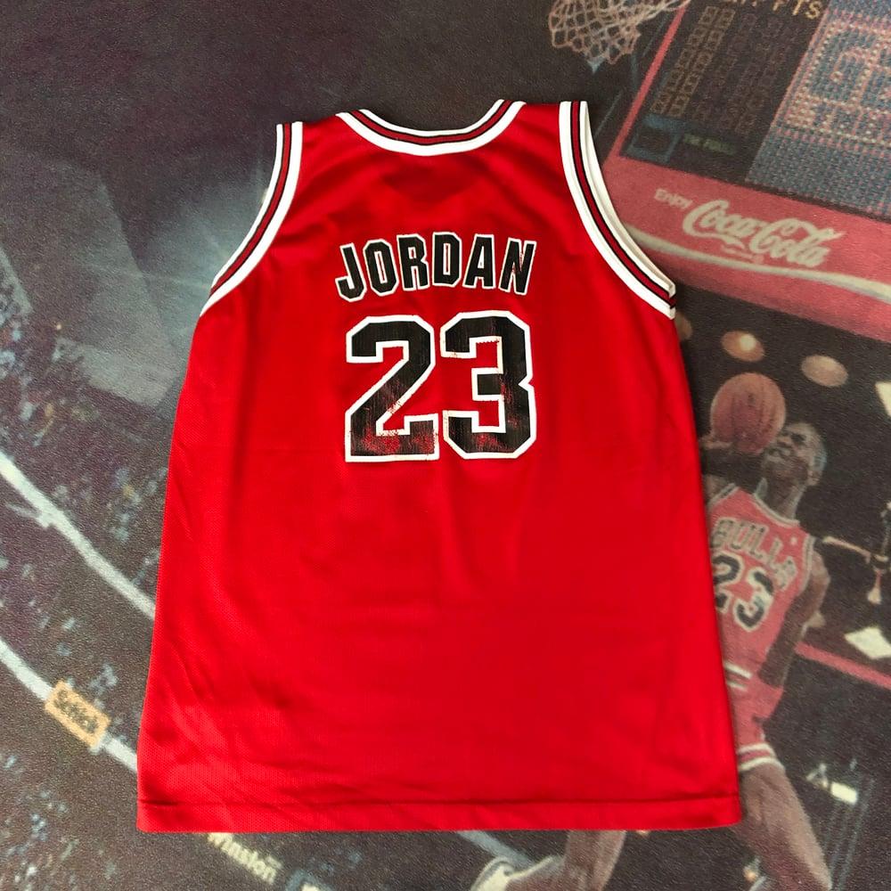 Image of Champion Chicago Bulls Michael Jordan Jersey Youth Size XL (18-20)