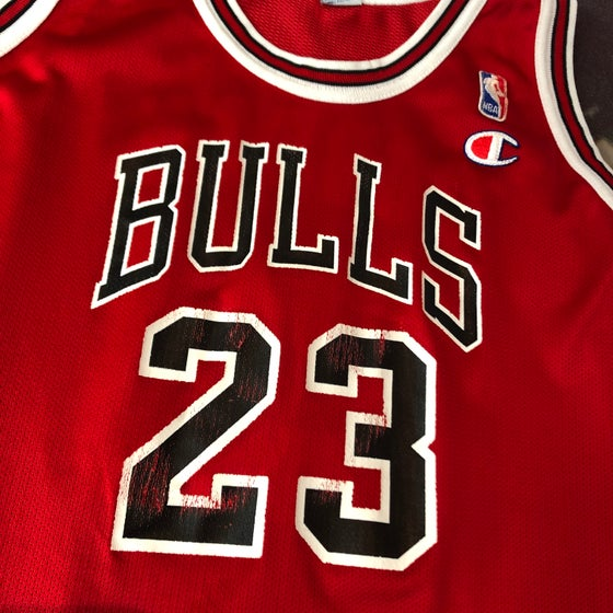 1d032d5fc24 Image of Champion Chicago Bulls Michael Jordan Jersey Youth Size XL (18-20)