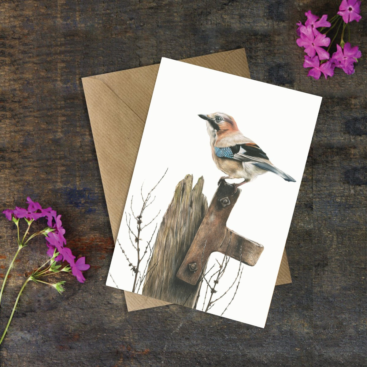 Image of 'Jay' Greeting Card