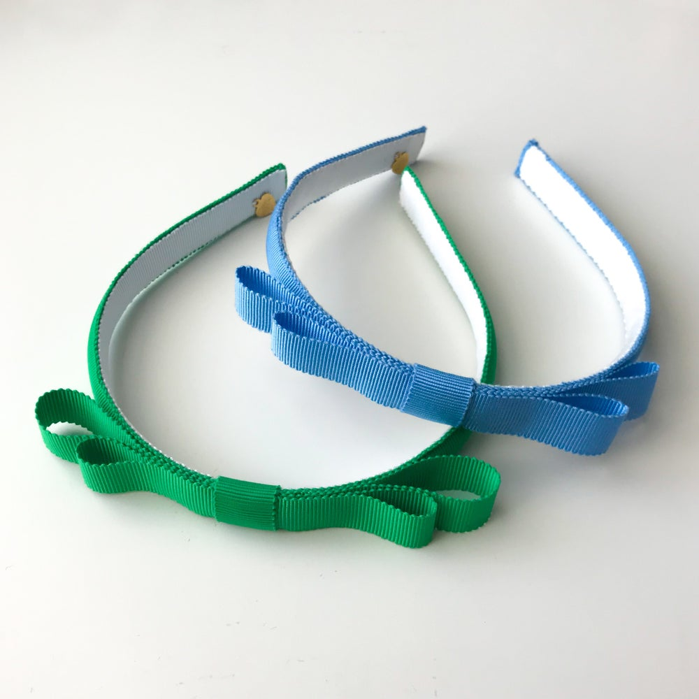 Image of SIMPLE DOUBLE BOW HEADBAND
