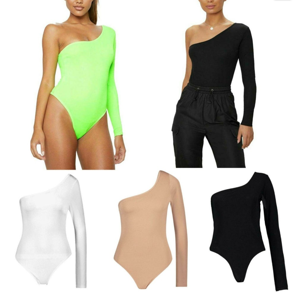 Image of One shoulder bodysuit (various styles)