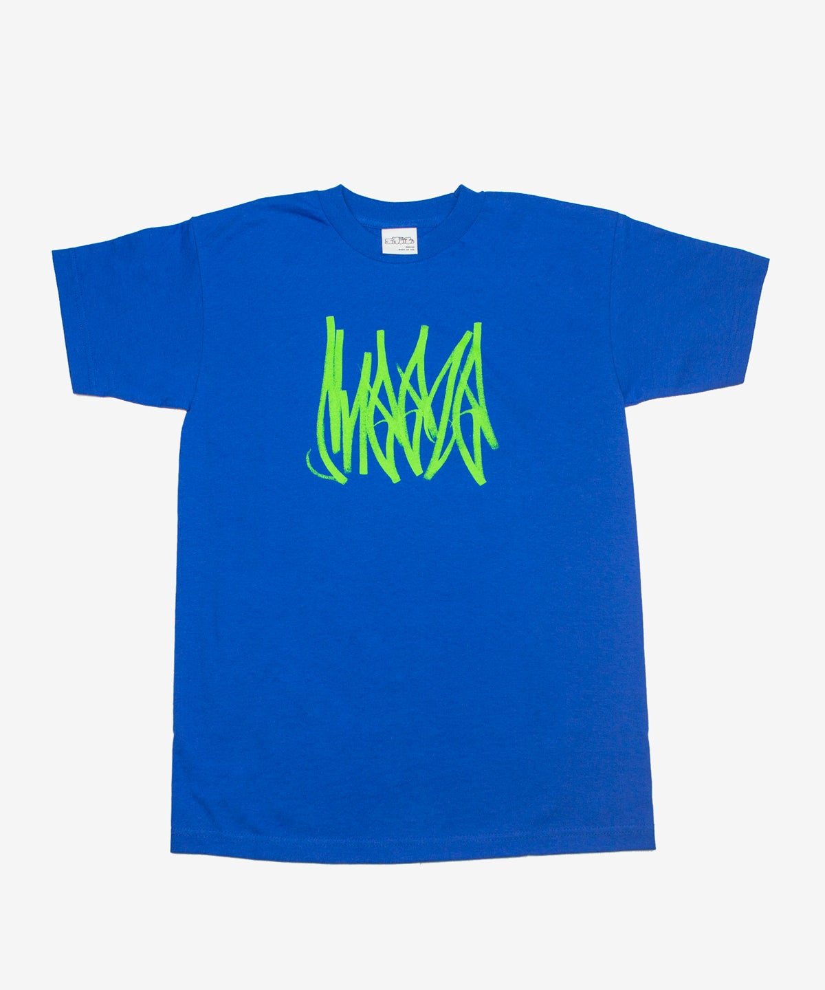 Image of SNEEZE_TAG TEE :::ROYAL BLUE:::