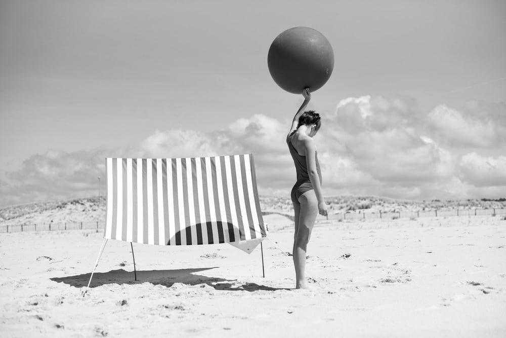Image of La plage et le ballon