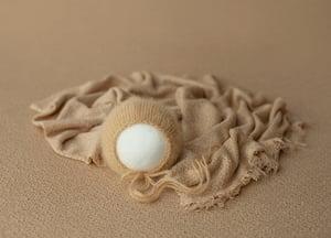 Image of Angora Bonnet - camel