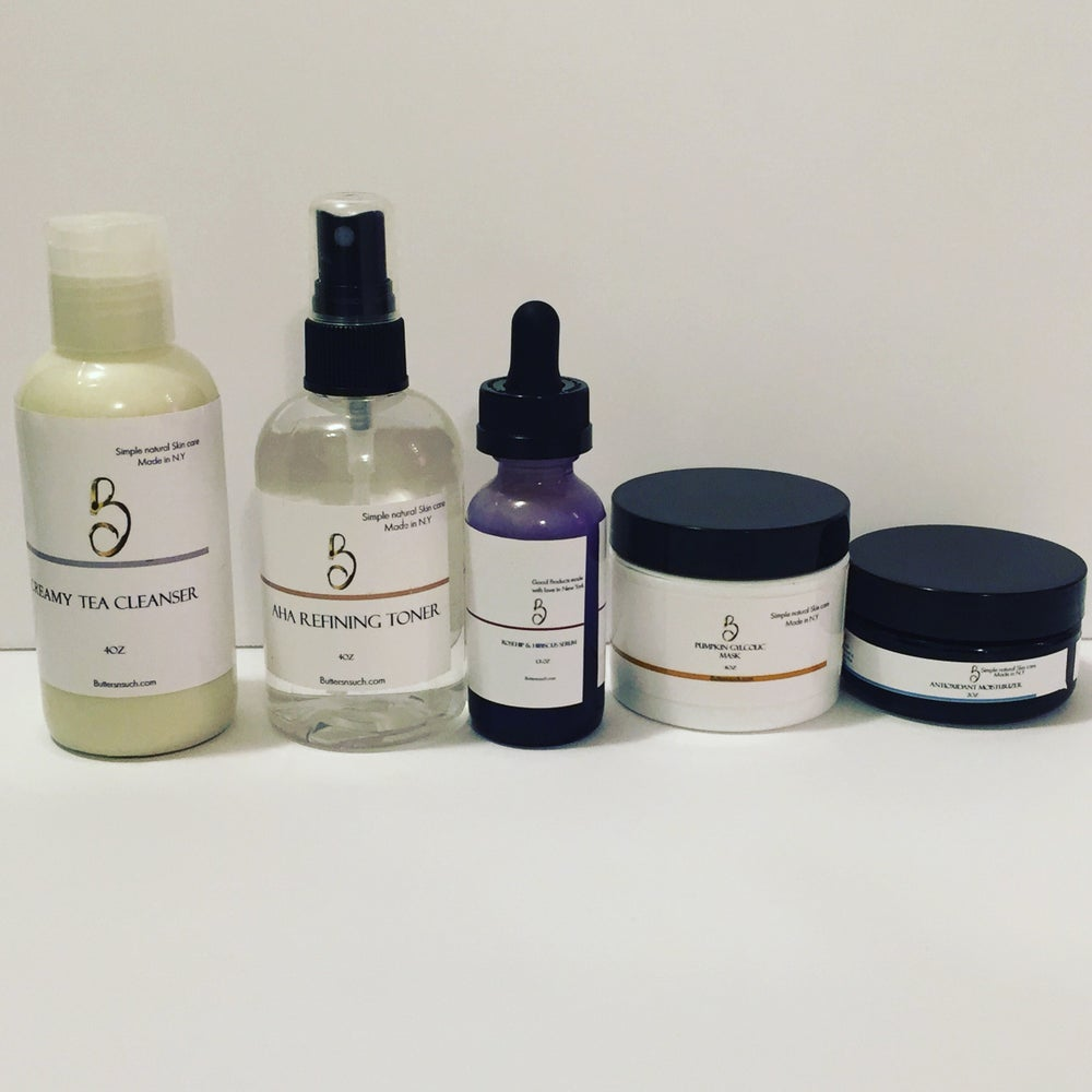 Image of Skincare bundle with cleanser and serum