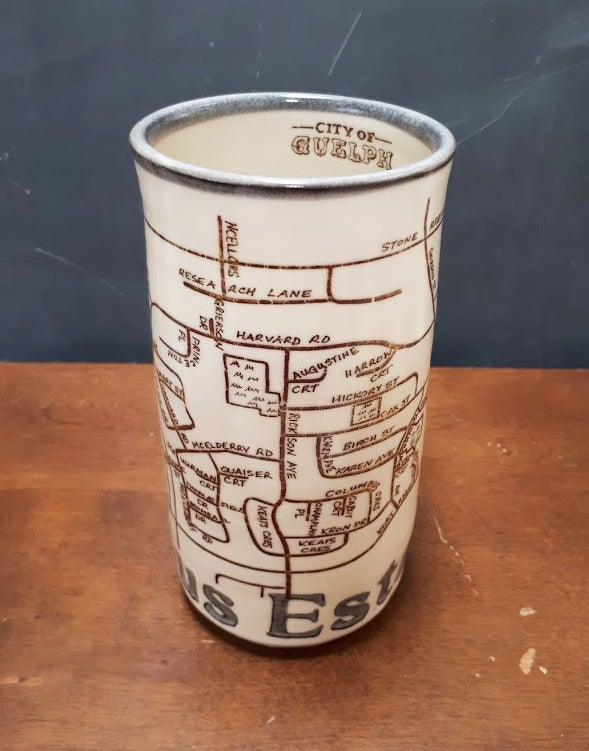 Image of Guelph Inspired CAMPUS ESTATES Mug by Bunny Safari