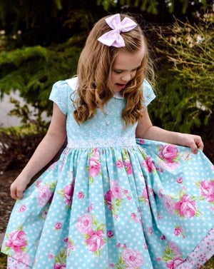 Image of Cotton Candy Floral Dress