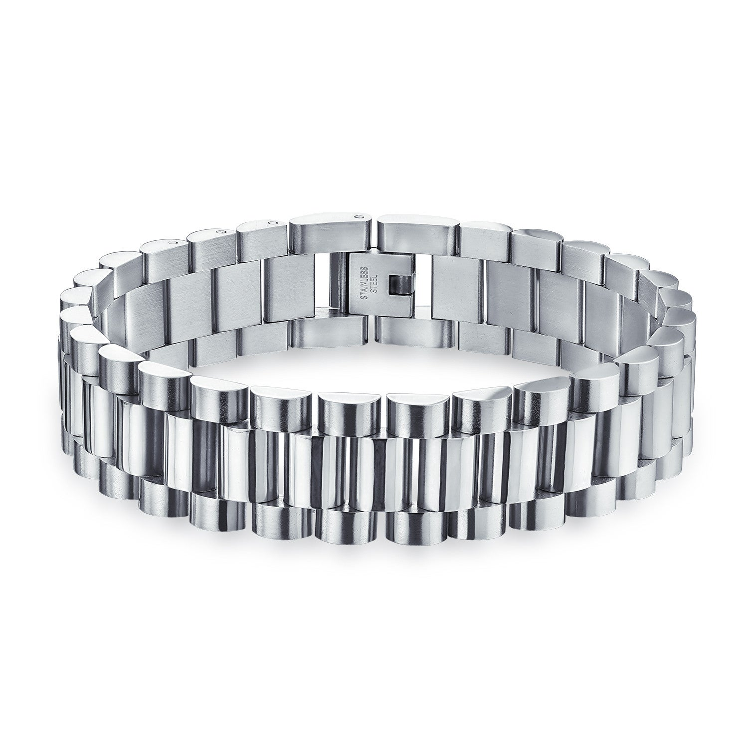 Image of Jubilee Bracelet - Shiny Stainless Steel