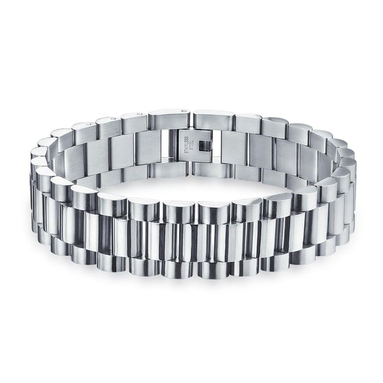 Image of Jubilee Bracelet - Shiny Stainless Steel