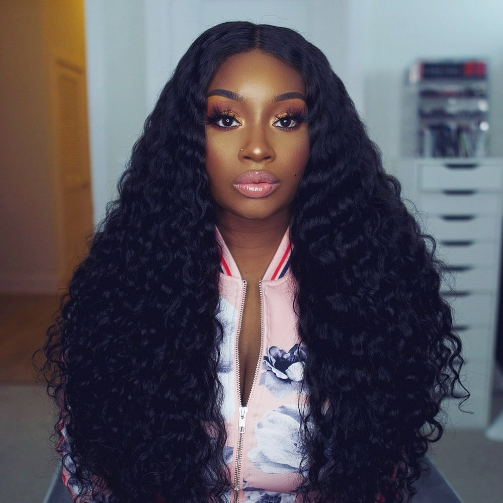 "Image of Raw Indian Natural Wave 26"" Custom Lace Closure Wig!"