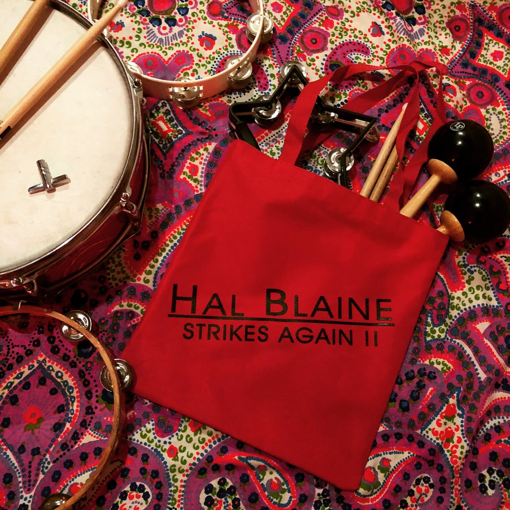 Image of Hal Blaine Strikes Again!! tote bag