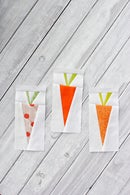 Image of Scrappy Carrot | A Foundation Paper Pieced Quilt Block