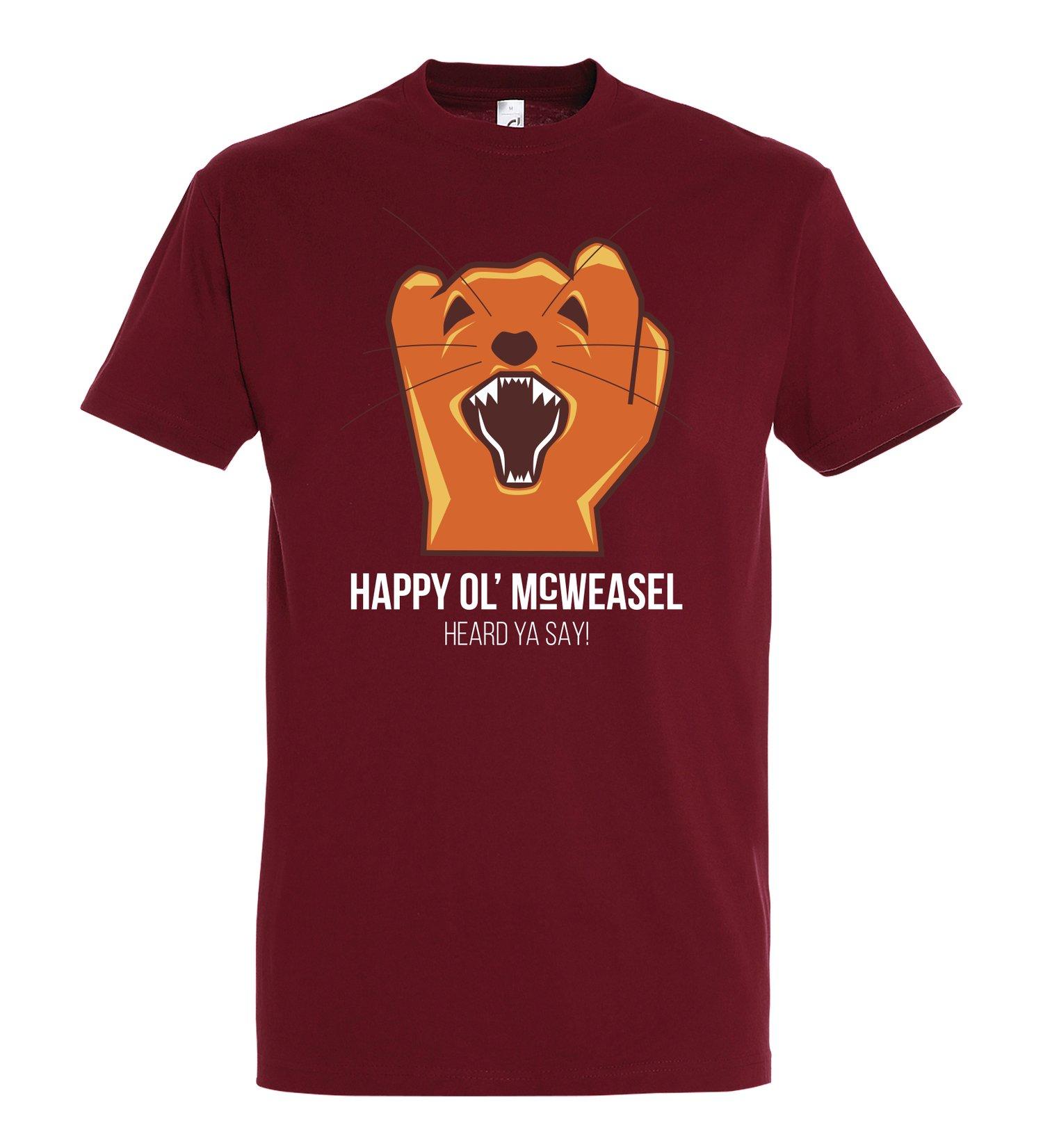 Image of HEARD YA SAY!, T-shirt, Red