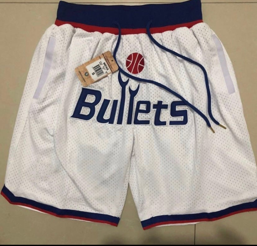 Image of Washington wizards bullets shorts