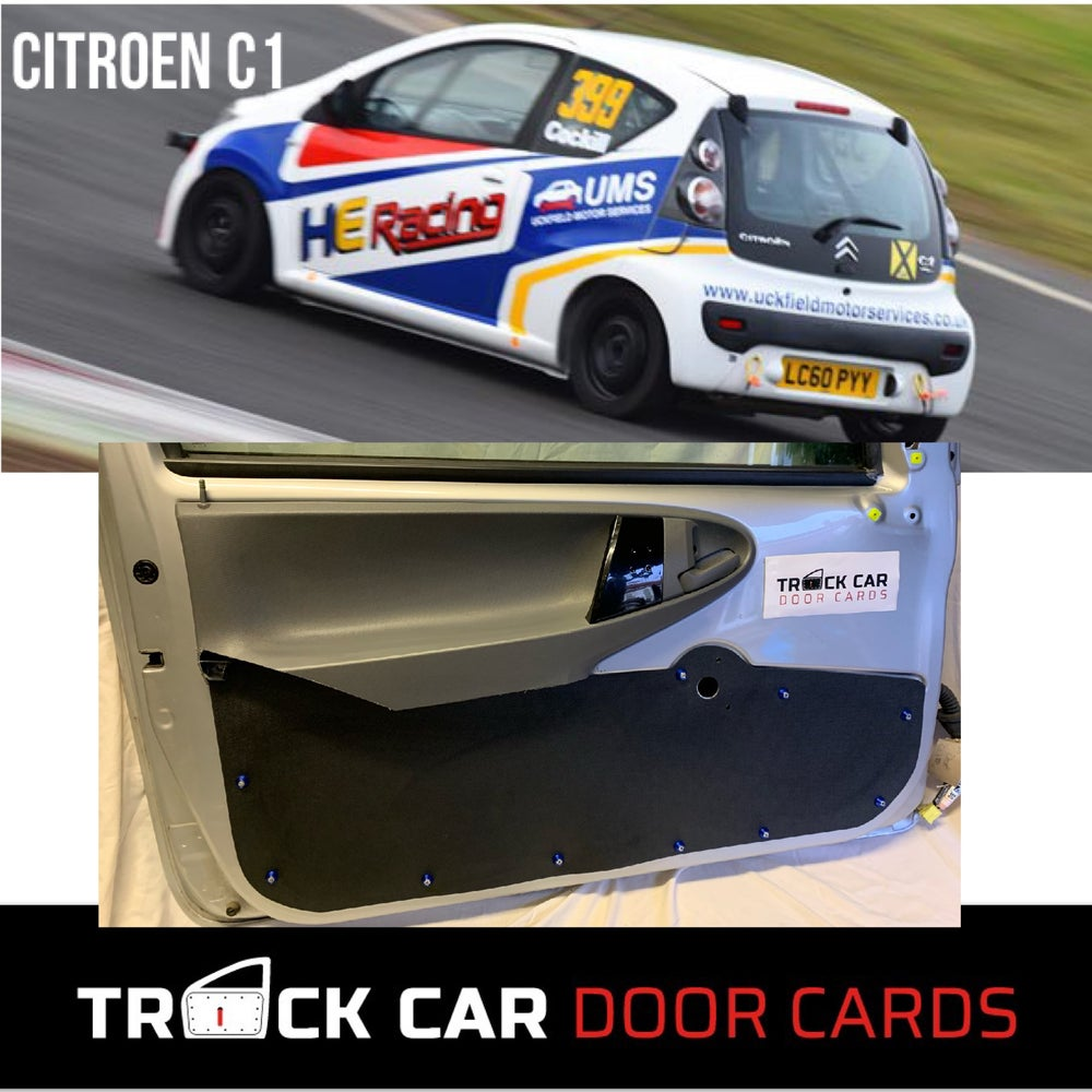 Image of Citroen C1 Partial Track Car Door Cards