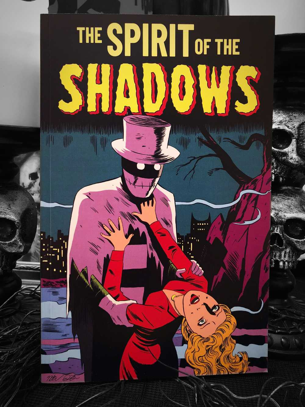 Image of The Spirit of The Shadows Graphic Novel (Back in Stock)