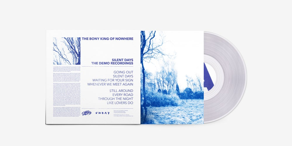 Image of THE BONY KING OF NOWHERE – SILENT DAYS – THE DEMO RECORDINGS (LIMITED LP)