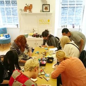 Image of Sunday 30th June I Am Acrylic Workshop