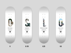 Image of OSL Skateboards. Lille grensen-trappa, 8.25""
