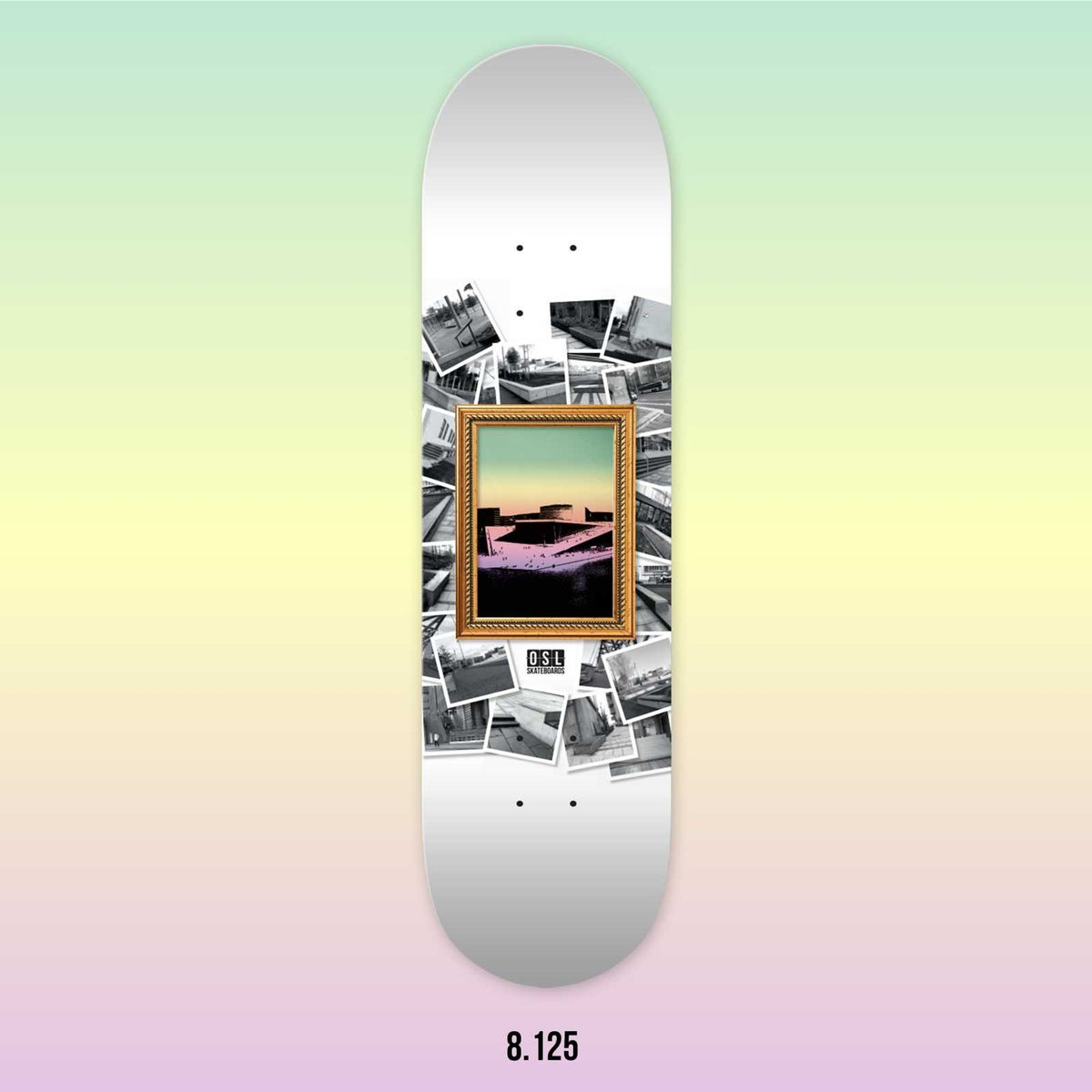 Image of OSL Skateboards. Opera-Sightseeing, 8.125""