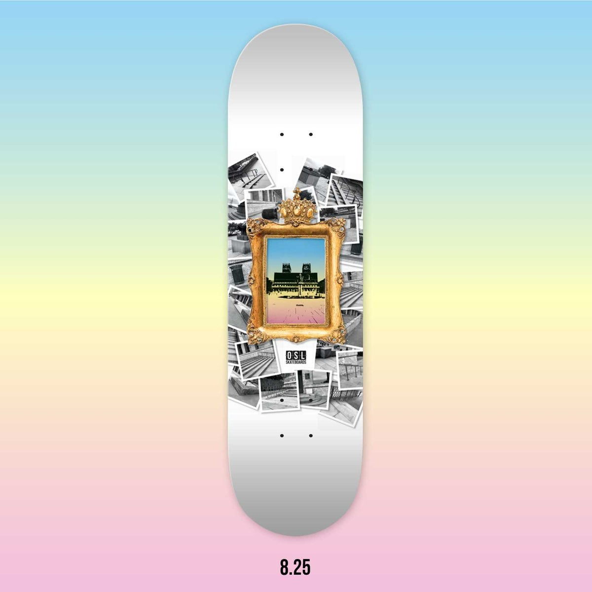 Image of OSL Skateboards. Rådhuset-Sightseeing, 8.25""