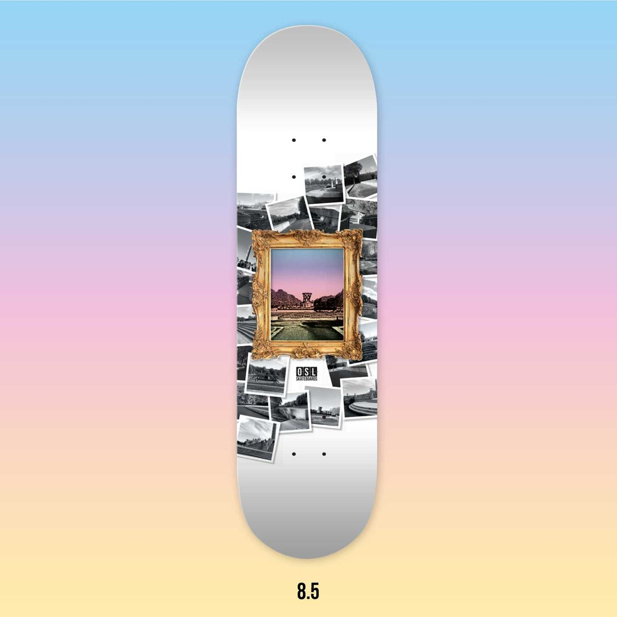 Image of OSL Skateboards. Frognerparken-Sightseeing, 8.5""