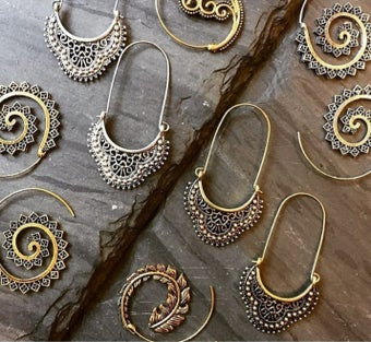 Image of Antique earrings 2