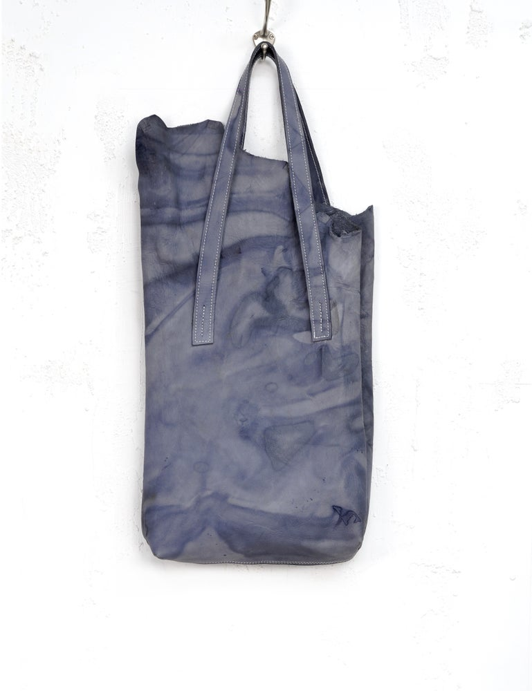 Image of THE BLUE TULIP Leather Shopper, DE BLAUWE TULP Hobo Bag