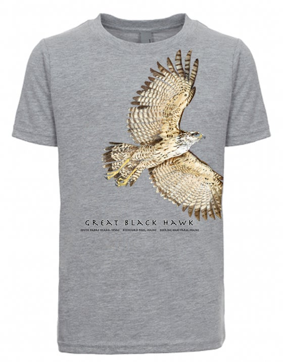Image of Great Black Hawk youth t-shirt