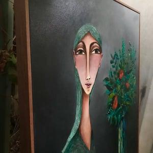 "Image of ""Just Blue"" An original artwork"