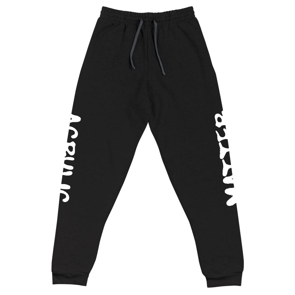 Image of ACRYLIC MATTER SCRIPT JOGGERS