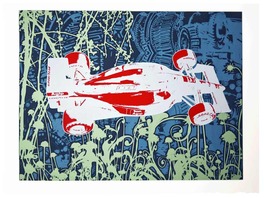 Image of Limited Edition Silkscreen Print – Ferrari F1 (Special Edition)