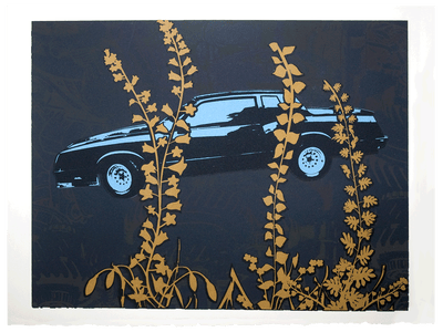Image of Limited Edition Silkscreen Print – Monte Carlo (Special Midnight Edition)