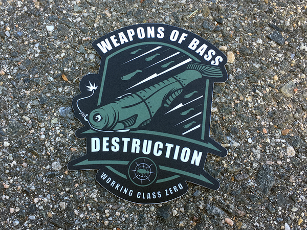 Image of Weapons of Bass Destruction Sticker