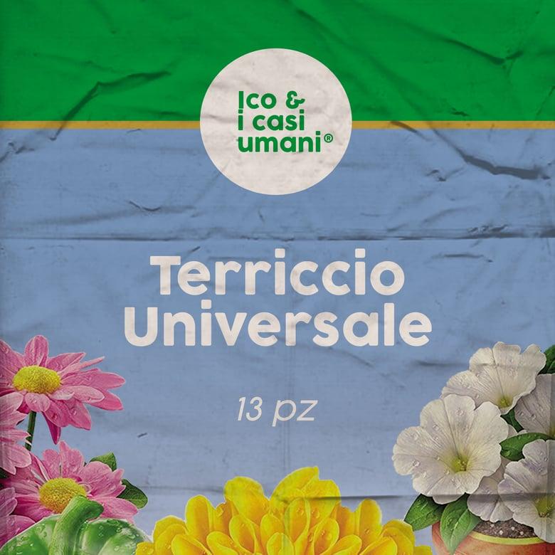 """Image of Ico & I Casi Umani """"Terriccio Universale"""" LP"""