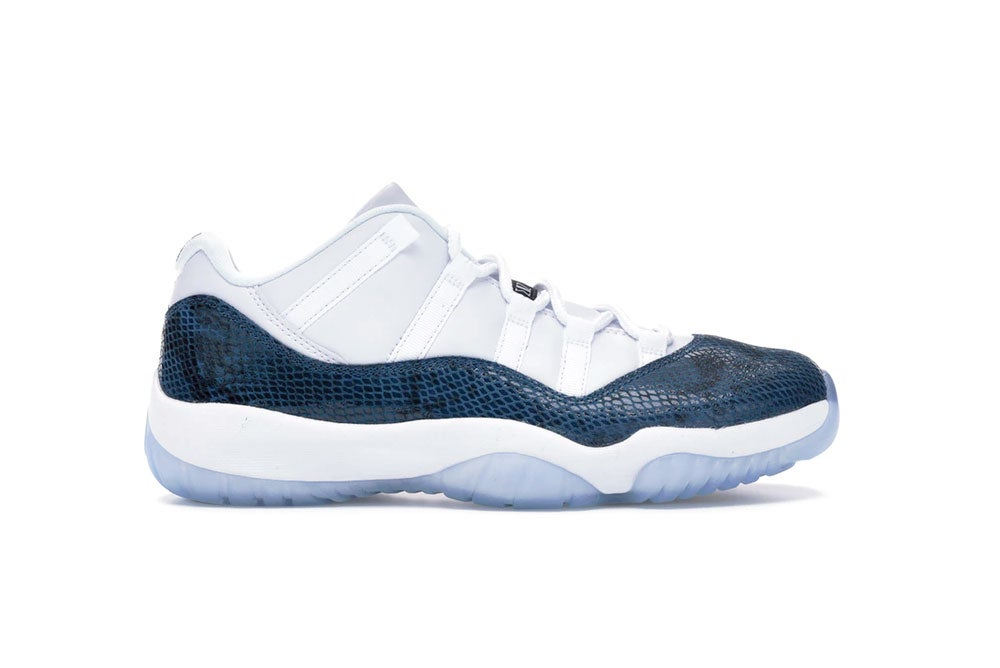 Image of Jordan 11 Retro Low Snake Navy CD6846-102
