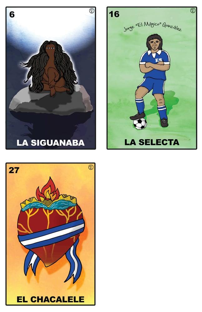 Image of Lotería Salvadoreña Posters 6+